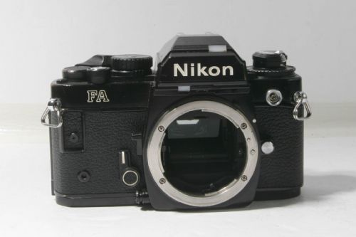 Nikon FA black body  + MF-16 DATA BACK